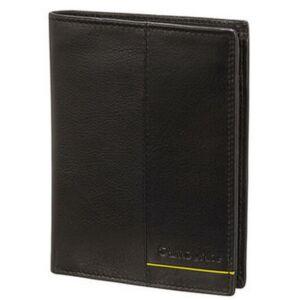 Samsonite pénztárca Outline 2 SLG 9,6x12,3x1,5 103880/2606 fekete/lime