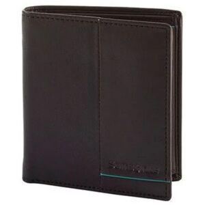 Samsonite pénztárca Outline 2 SLG 108668 sötétbarna/türkiz