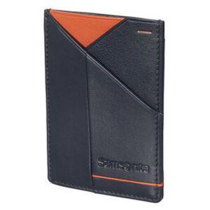 Samsonite pénztárca Outline 2 SLG 108681 éjkék/narancspiros