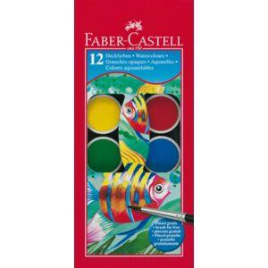 Faber-Castell vízfesték 12db 24mm-es vízbázisú festék prémium minőségű termék 125011
