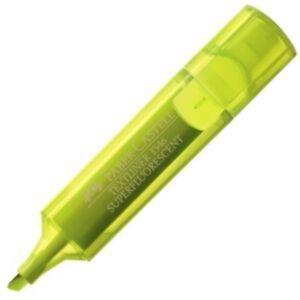 Faber-Castell szövegkiemelő Textliner 1546 / neon fluor citromsárga Highlighter 154607