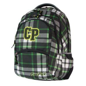 Hátitáska Cool Pack M:46x28x19cm, 27L megszűnő COLLEGE, 48057CP-181_Green Tartan