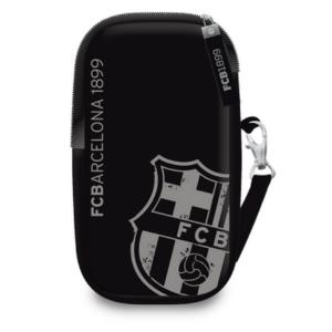 Mobiltartó nyakba akasztós FC Barcelona Focis black 18' keskeny kollekció prémium minőség