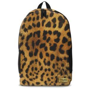 Hátizsák Ars Una nagy Yakuza Leopard Skin 60728 Tinédzser anatómiai háti prémium minőség