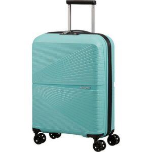American Tourister kabinbőrönd Airconic 55/20 TSA 128186/8397 Purist Blue, 4 kerekű