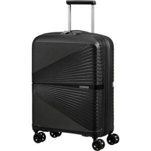American Tourister kabinbőrönd Airconic 55/20 TSA 128186/0581 Onyx black, 4 kerekű