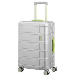 American Tourister kabinbőrönd Alumo spinner 55/20 NEON 129881/1515 lime, 4 kerekű