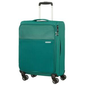 American Tourister kabinbőrönd Lite Ray 55/20 TSA 130170/1339 Erdő zöld, 4 kerekű, textil