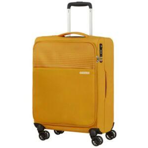 American Tourister kabinbőrönd Lite Ray 55/20 TSA 130170/1371 Arany sárga, 4 kerekű, texti