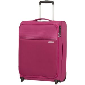 American Tourister kabinbőrönd Lite Ray upright 55/20 TSA 130169/6076 Magenta Haze, textil