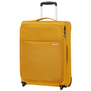 American Tourister kabinbőrönd Lite Ray upright 55/20 TSA 130169/1371 Arany sárga, textil