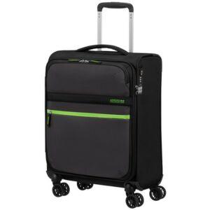 American Tourister kabinbőrönd Matchup 55/20 TSA 124709/5197 Volt Black, 4 kerekű, textil