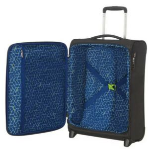 American Tourister kabinbőrönd Matchup upright 55/20 TSA 124687/5197 Volt Black, 2 kerekű, textil