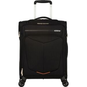 American Tourister kabinbőrönd Summerfunk 55/20 BIZZ SMART TSA 124888/1041 fekete, 4 kerekű, textil