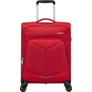 American Tourister kabinbőrönd Summerfunk 55/20 STRICT TSA 125675/1726 piros, 4 kerekű, textil