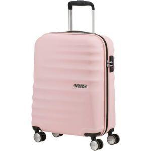 American Tourister kabinbőrönd WAVEBREAKER 55/20 VELVET 122820/E050 Pink Blush, 4 kerekű