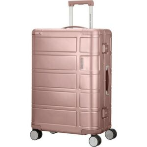 American Tourister bőrönd 67/2 Alumo spinner 67/24 122764/1751 rose, 4 kerekű