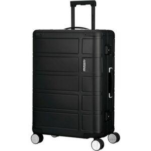 American Tourister bőrönd 67/2 Alumo spinner 67/24 122764/1041 fekete, 4 kerekű