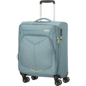 American Tourister bőrönd 67/2 Eco Wanderer 67/24 bővíthető bőrönd 125329/1408 szürke, 4 kerekű, textil