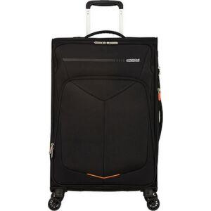 American Tourister bőrönd 67/2 Summerfunk 67/24 bővíthető bőrönd 124890/1041 fekete, 4 kerekű, textil