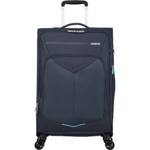American Tourister bőrönd 67/2 Summerfunk 67/24 bővíthető bőrönd 124890/1596 tengerkék, 4 kerekű, textil