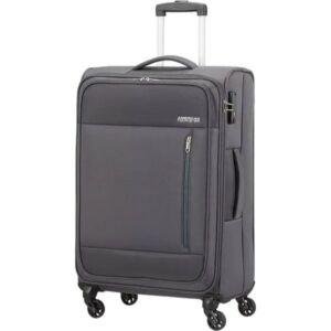 American Tourister bőrönd 68/2 Heat Wave 68/25 TSA 130668/1175 faszén szürke, 4 kerekű, tex