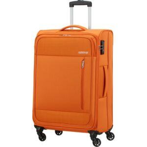 American Tourister bőrönd 68/2 Heat Wave 68/25 TSA 130668/L038 Cardigan Orange, 4 kerekű, t