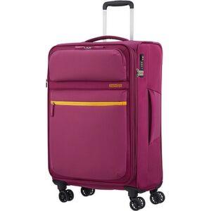 American Tourister bőrönd 68/2 Matchup 68/25 bővíthető bőrönd 124711/1283 sötét pink, 4 kerekű, textil