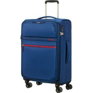 American Tourister bőrönd 68/2 Matchup 68/25 bővíthető bőrönd 124711/1608 neon kék, 4 kerekű, textil