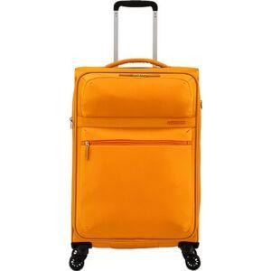 American Tourister bőrönd 68/2 Matchup 68/25 bővíthető bőrönd 124711/1709 Popcorn sárga 4 kerekű, text