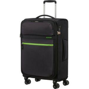 American Tourister bőrönd 68/2 Matchup 68/25 bővíthető bőrönd 124711/5197 Volt Black, 4 kerekű, textil