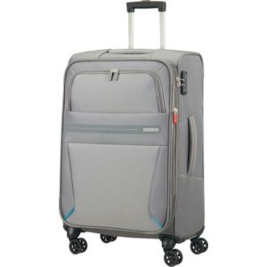 American Tourister bőrönd 68/2 Summer Voyager 43X68X28/30 67/76L 3,3kg textil 4kerekű bőrönd upright 68/25