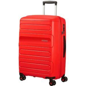 American Tourister bőrönd 68/2 Sunside 46x67,5x28,5/32 72,5/83,5L 3 107527/0409 piros
