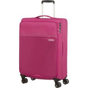 American Tourister bőrönd 69/2 Lite Ray 69/25 TSA 130172/6076 Magenta Haze, 4 kerekű, text
