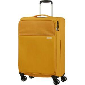 American Tourister bőrönd 69/2 Lite Ray 69/25 TSA 130172/1371 Arany sárga, 4 kerekű, texti