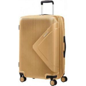 American Tourister bőrönd 69/2 Modern Dream 69/25 bővíthető bőrönd 110081/1366 arany, 4 kerekű