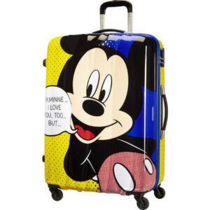American Tourister bőrönd 75/2 Kemény 4kerekű 52x75x31 82l 4,4kg 64480/4524 - Mickey Pop