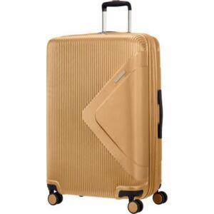 American Tourister bőrönd 78/2 Modern Dream 78/29 bővíthető bőrönd 110082/1366 arany, 4 kerekű