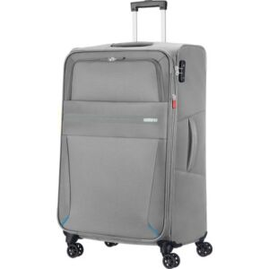 American Tourister bőrönd 79/2 Summer Voyager 47X79X32/34 112/123 3, 9K textil 4kerekű bőrönd upright 79/29