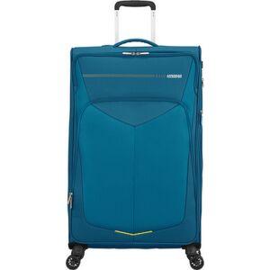 American Tourister bőrönd 79/2 Summerfunk 79/29 bővíthető bőrönd 124891/2824 kékeszöld, 4 kerekű, textil