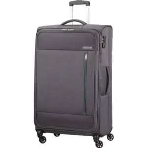 American Tourister bőrönd 80/3 Heat Wave 80/30 TSA 130669/1175 faszén szürke, 4 kerekű, tex