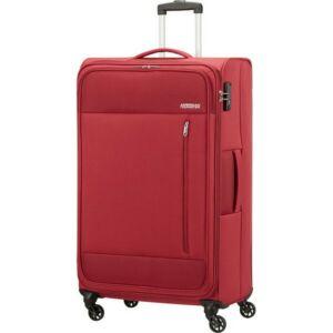 American Tourister bőrönd 80/3 Heat Wave 80/30 TSA 130669/1129 tégla piros, 4 kerekű, texti