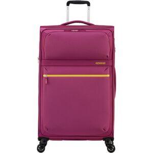 American Tourister bőrönd 80/3 Matchup 80/30 bővíthető bőrönd 124712/1283 sötét pink, 4 kerekű, textil