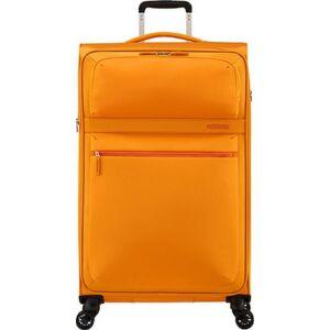 American Tourister bőrönd 80/3 Matchup 80/30 bővíthető bőrönd 124712/1709 Popcorn sárga 4 kerekű, text