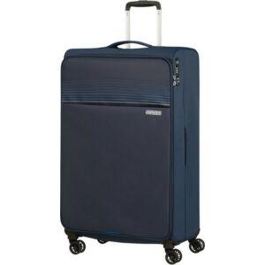 American Tourister bőrönd 81/3 Lite Ray 81/30 TSA 130173/1552 Midnight Navy, 4 kerekű, tex