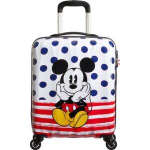 American Tourister bőrönd Alfatwist Disney Legends SPIN 55/20 92699/9072 Mickey Blue Dots