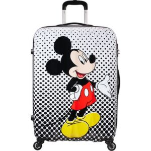 American Tourister bőrönd Alfatwist Disney Legends SPIN 75/28 64480/7483 Mickey Polka Dots