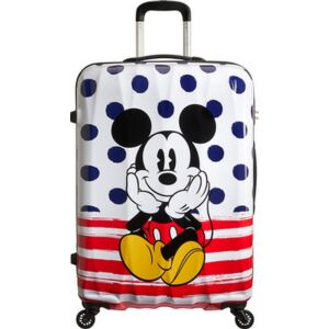 American Tourister bőrönd Alfatwist Disney Legends SPIN 75/28 64480/9072 Mickey Blue Dots