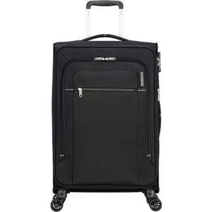 American Tourister bőrönd Crosstrack spinner 67/24 Tsa Exp 133190/1062 Black/Grey