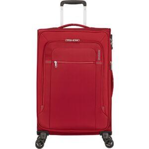 American Tourister bőrönd Crosstrack spinner 67/24 Tsa Exp 133190/1741 Red/Grey